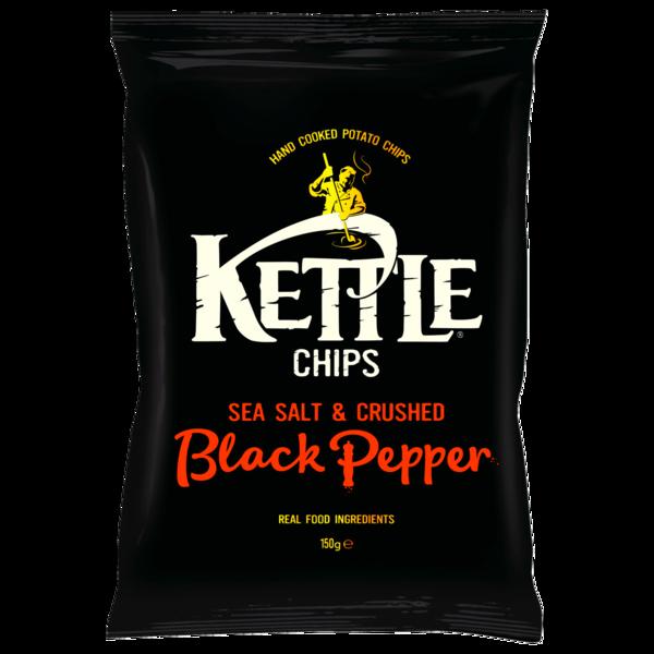 Kettle Chips Crushed Black Pepper 150g