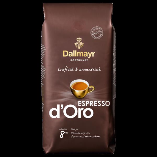 Dallmayr Espresso d'Oro ganze Bohnen 1kg