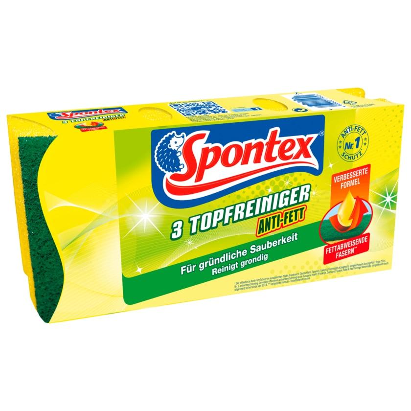 Spontex Topfreiniger Anti-Fett 3 Stück