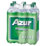 Azur Mineralwasser Medium 6x1,5l