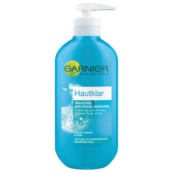 Garnier Hautklar Anti-Pickel Wasch-Gel 200ml