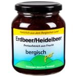 Bergisch pur Erdbeer- Heidelbeerkonfitüre 420g