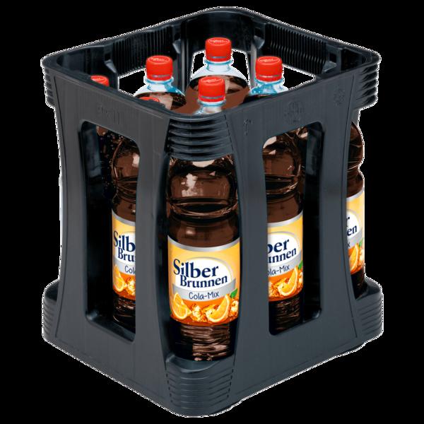 Silberbrunnen Cola-Mix 9x1l