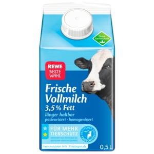REWE Beste Wahl Frische Vollmilch 0,5l