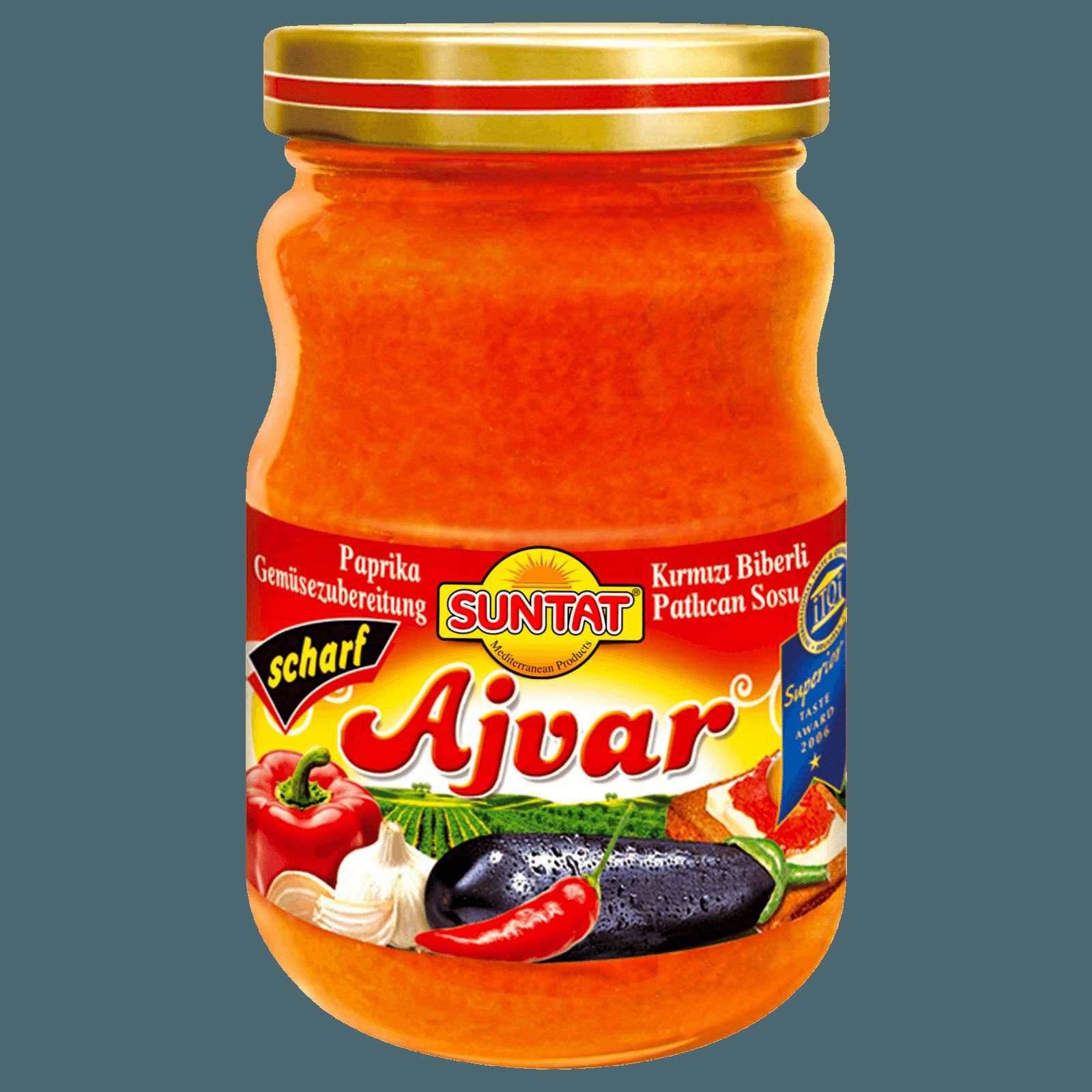 Suntat Ajvar scharf 190g
