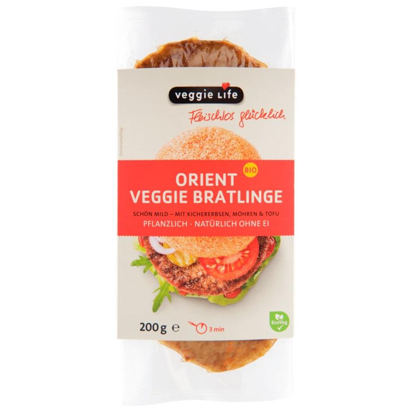 Veggie Life Bio Orient Veggie Bratlinge vegan 200g