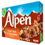 Alpen Fruit, Nut and Chocolate Muesli Bar 145g, 5 Stück