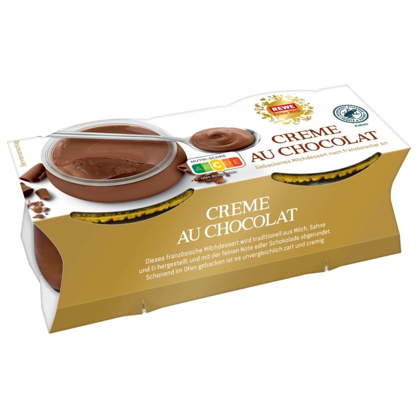 REWE Feine Welt Creme au Chocolat Milchdessert 2x100g