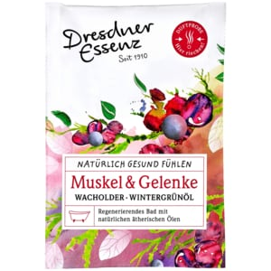 Dresdner Essenz Natürlich Gesund fühlen Muskel und Gelenke 60g