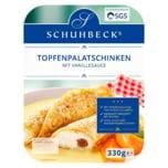 Schuhbecks Topfenpalatschinken mit Vanillesauce