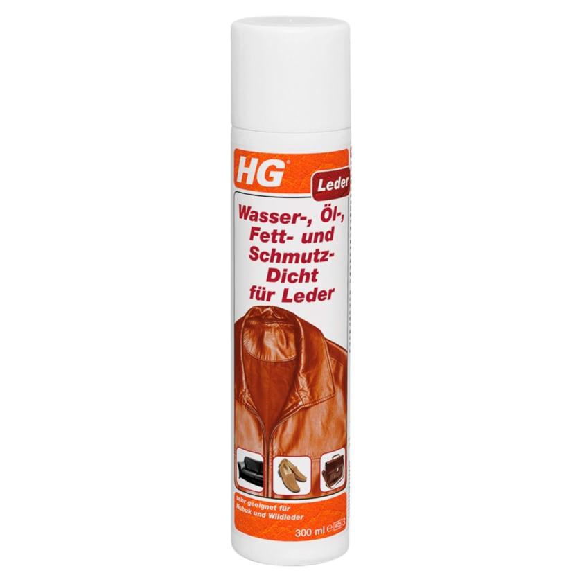 HG Leder Wasser-. Öl-. Fett- und Schmutz-Dicht 300ml