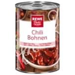 REWE Beste Wahl Chilibohnen in Sauce 420g