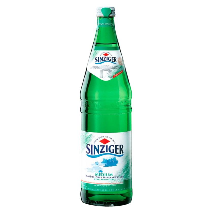 Sinziger Mineralwasser Medium 0,75l
