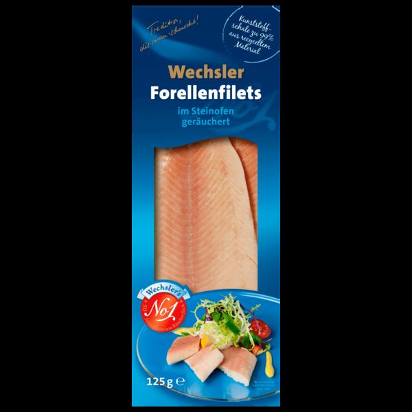 Wechsler's Forellenfilets geräuchert 125g