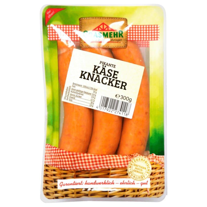 Grasmehr Pikante Käse Knacker 3x100g