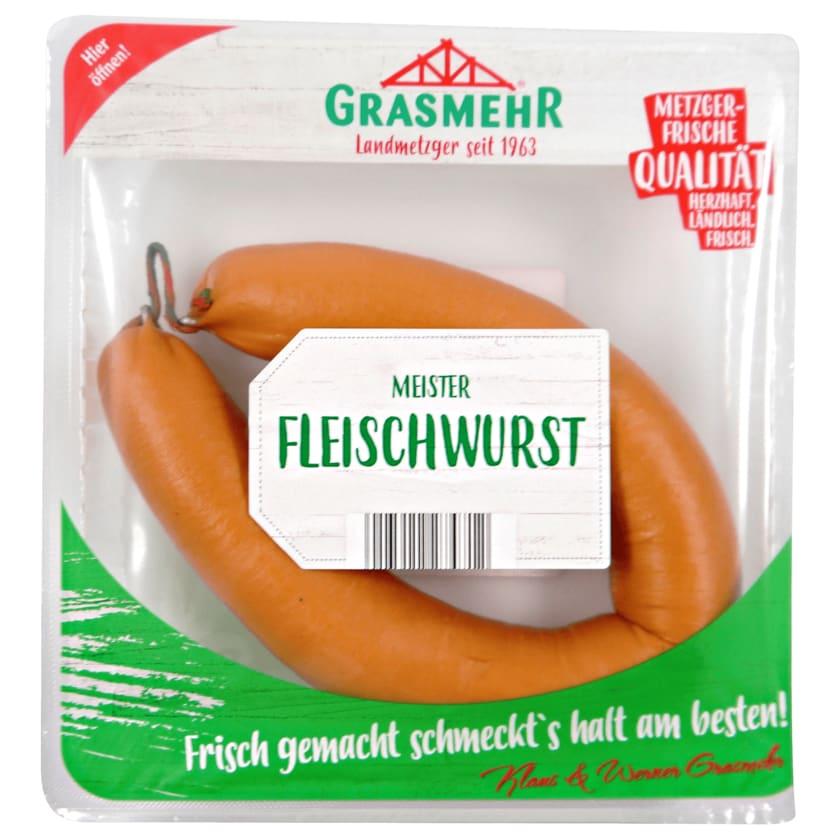 Grasmehr Meister Schinkenfleischwurst 350g