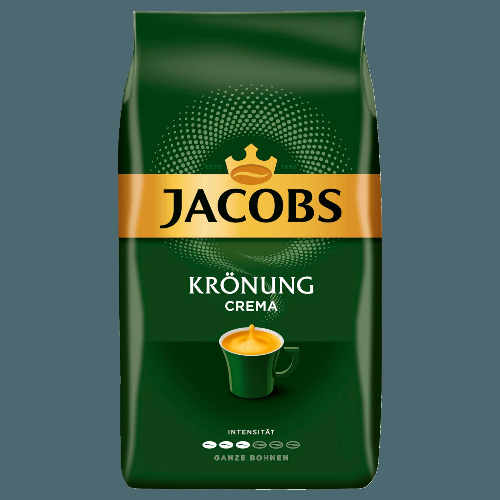 Jacobs Kaffeebohnen Krönung Crema 1 Kg Bei Rewe Online Bestellen