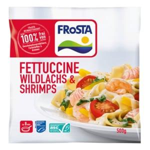 Frosta Fettuccine Fisch & Shrimps 500g