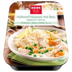 REWE Beste Wahl Hühnerfrikassee mit Reis 350g