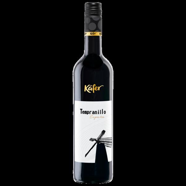 Käfer Tempranillo Spanien trocken 0,75l