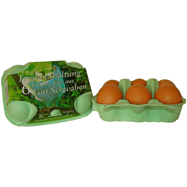 Amberger Eier Freilandhaltung 6 Stück