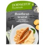 Dornseifer Frisch & Fertig Rostbratwurst mit Sauerkraut und Püree 380g
