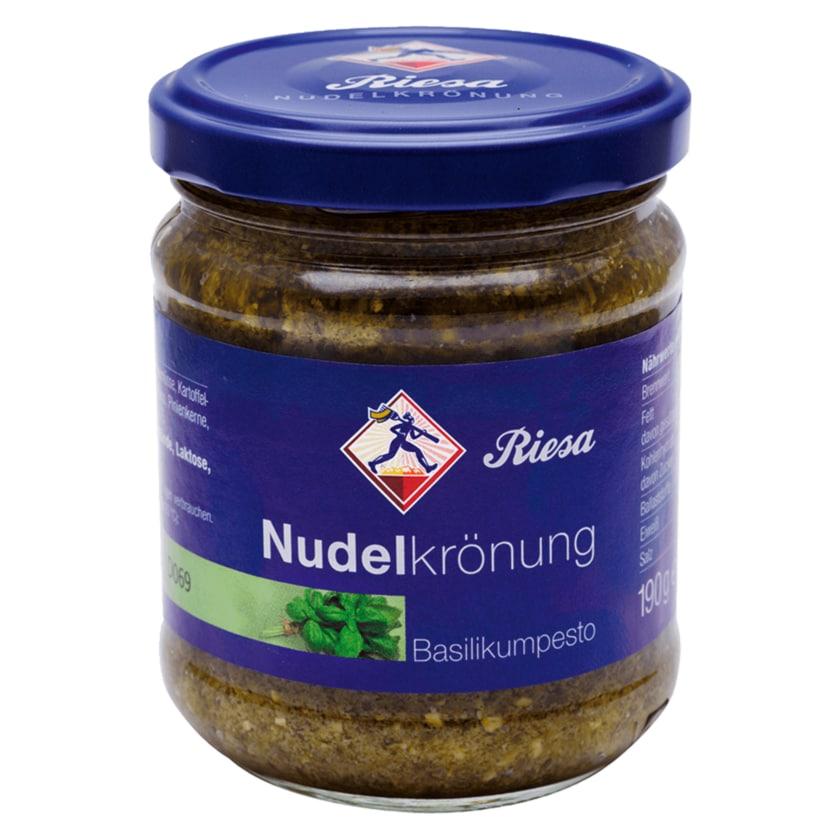 Riesa Nudelkrönung Basilikum-Pesto 190g