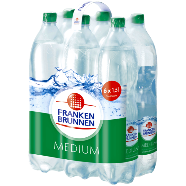 Franken Brunnen Medium 6x1,5l
