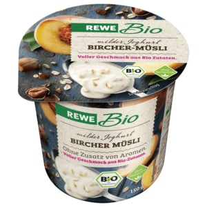 REWE Bio Joghurt mild Bircher Müsli 150g