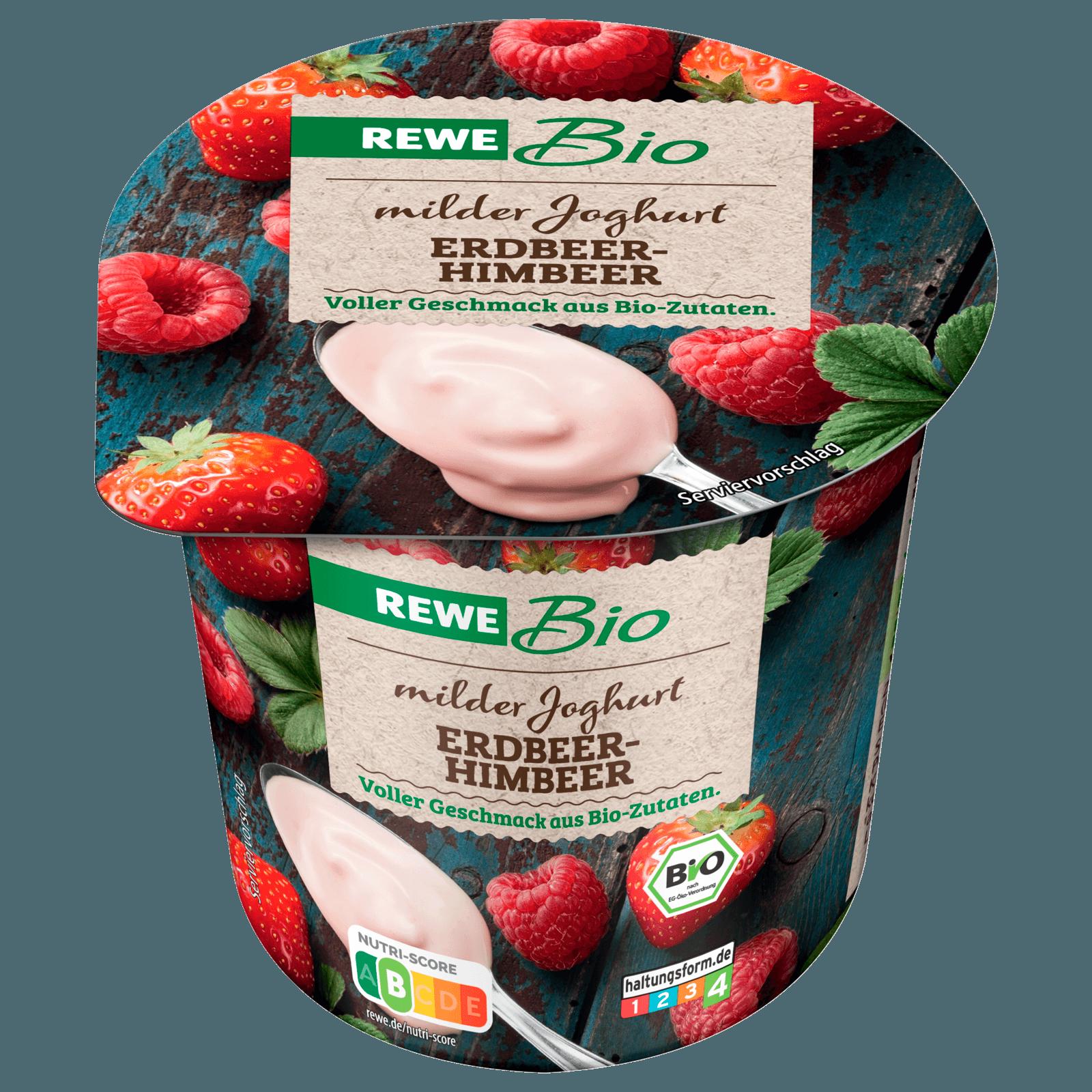 REWE Bio Joghurt mild Erdbeer-Himbeer 150g