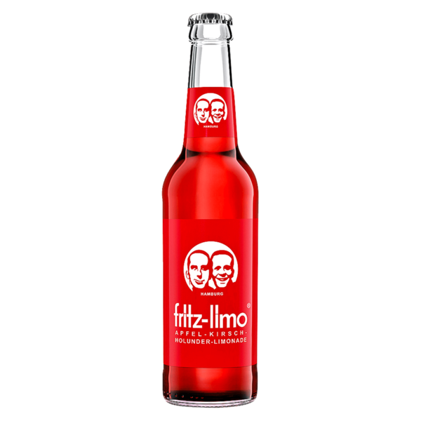 Fritz-limo Apfel-Kirsch-Holunder-Limonade 0,33l