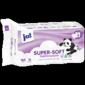 ja! Tissue-Toilettenpapier 4-lagig 16x160 Blatt