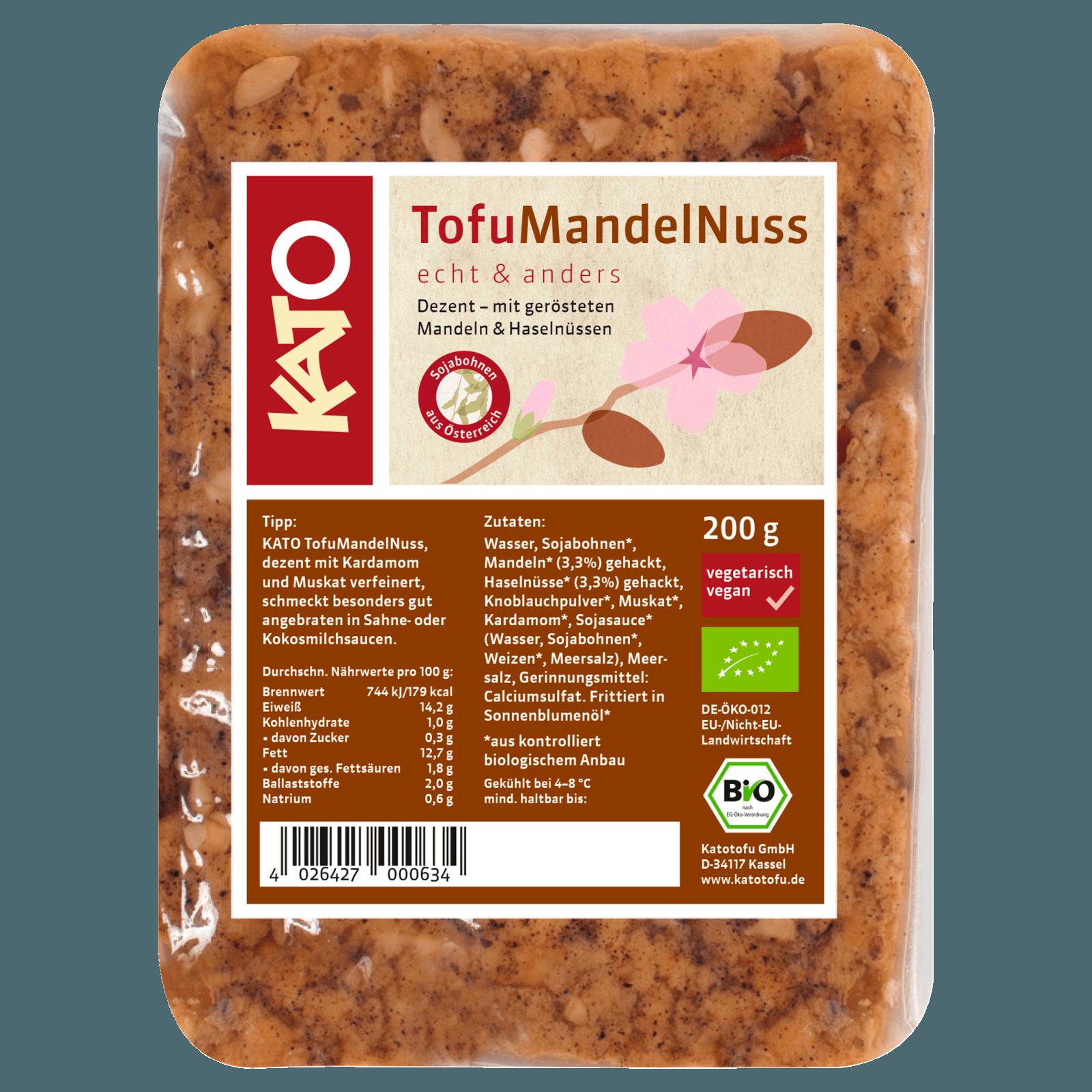 Kato Tofu Mandel-Nuss 200g