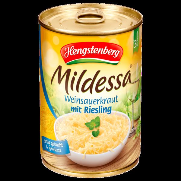 Hengstenberg Mildessa Riesling-Kraut 350g
