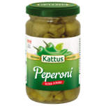 Kattus Peperoni grün extra scharf 150g