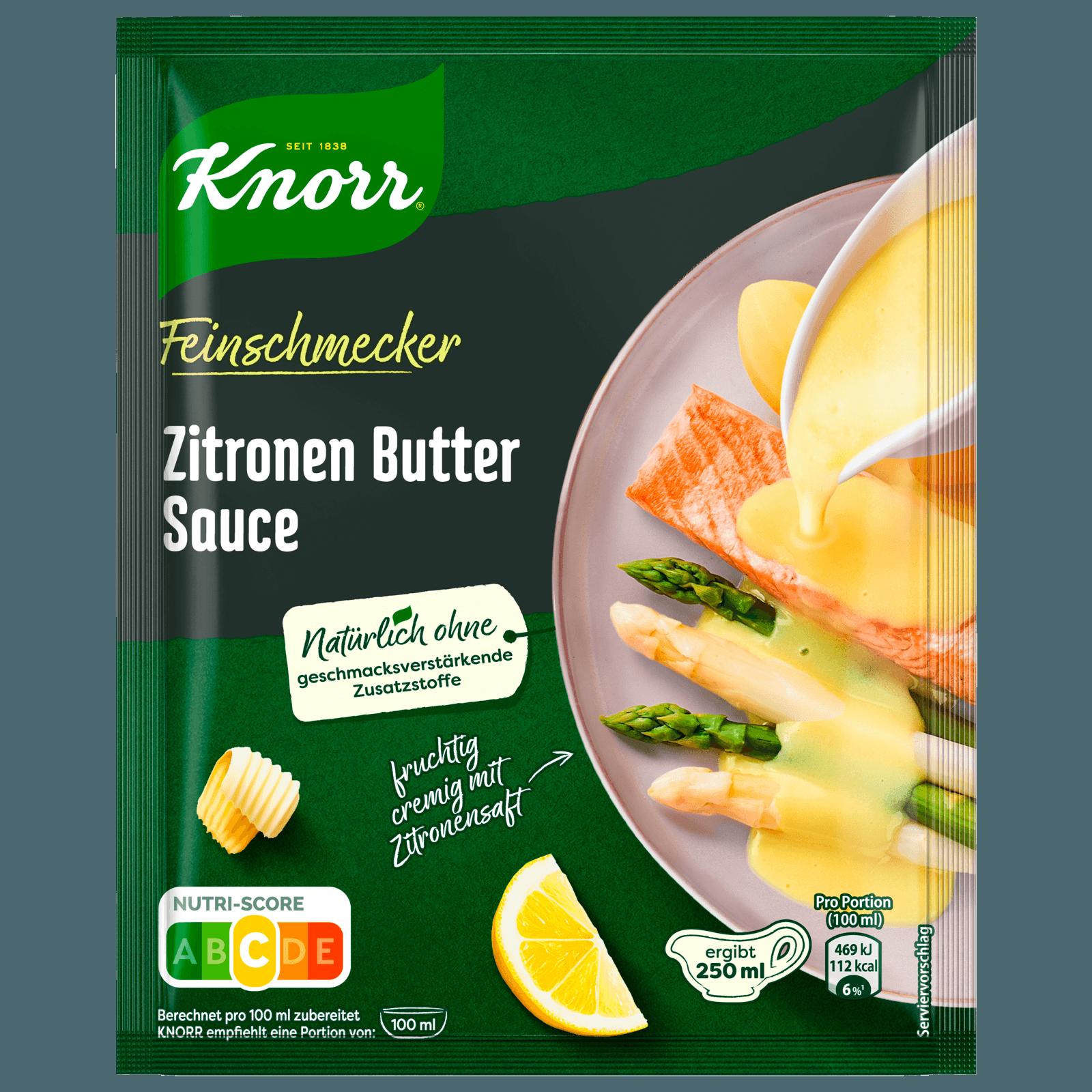 Knorr Feinschmecker Zitronen Butter Soße 250 ml bei REWE online ...