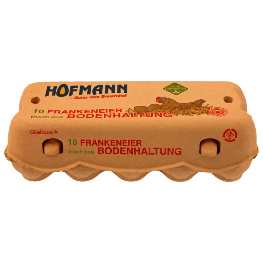 Hofmann Eier aus Bodenhaltung 10 Stück
