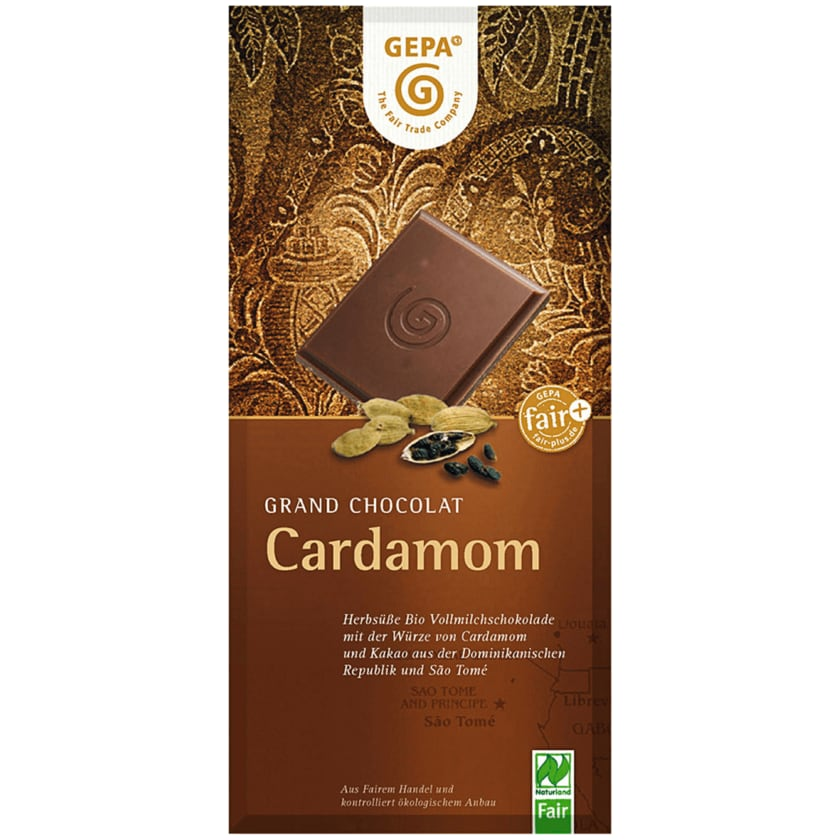 Gepa Bio Schokolade Cardamom 100g