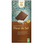 Gepa Fleur de Sel Feine Bio-Vollmilch-Schokolade 37% 100g