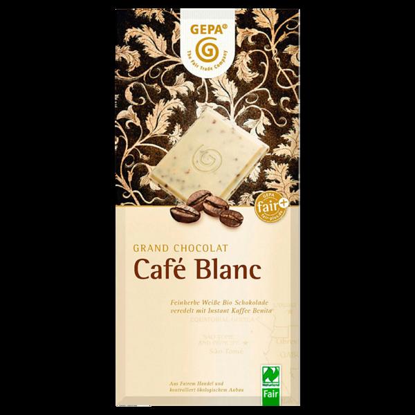 Gepa Café Blanc Weiße Bio Schokolade 100g