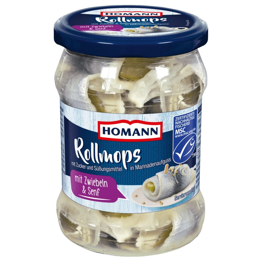 Homann Rollmops 250g