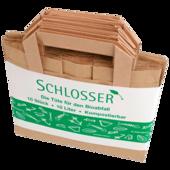 Schlosser Bioabfalltüte mit Henkel 10l