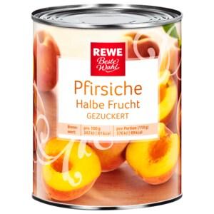 REWE Beste Wahl Pfirsiche halbe Frucht 220g