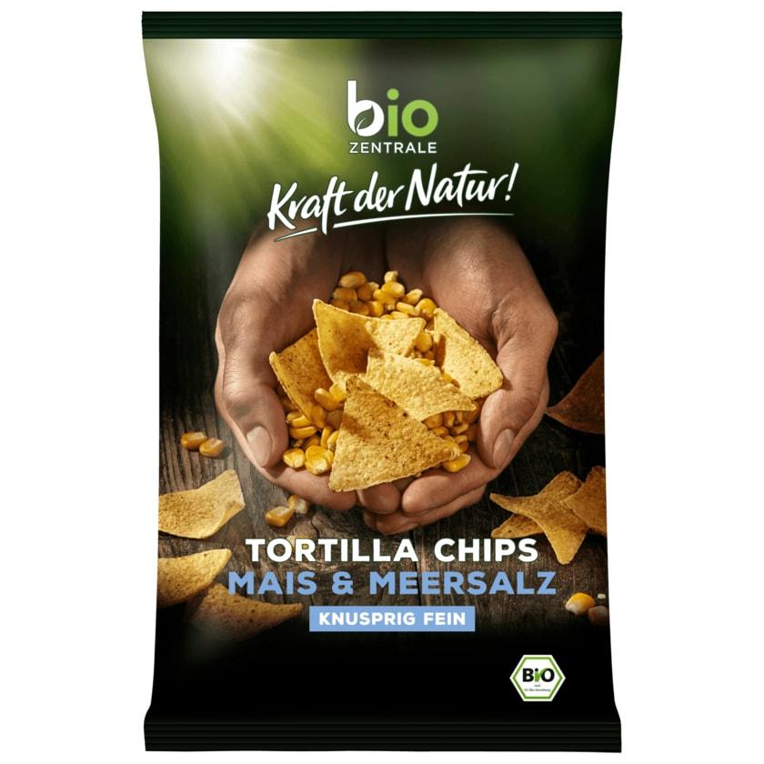 Biozentrale Bio Tortilla-Chips Meersalz 125g