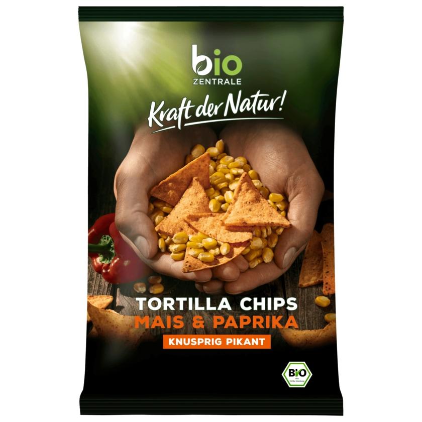 Biozentrale Bio Tortilla-Chips Paprika 125g