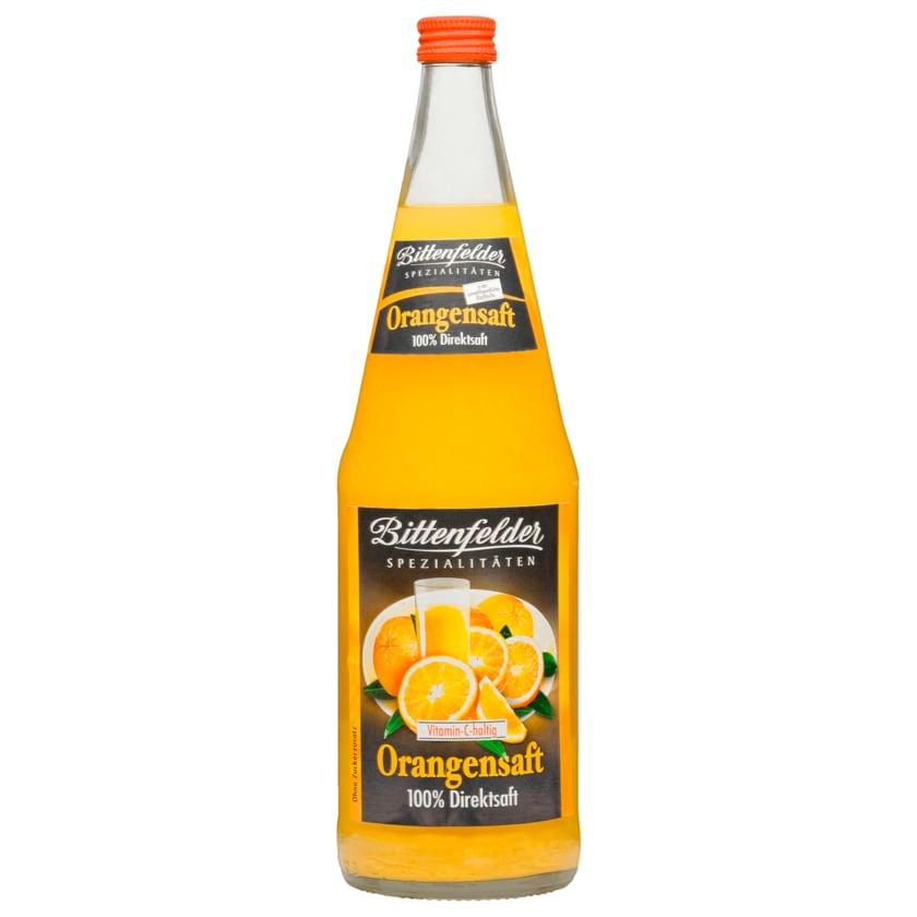 Bittenfelder Orangendirektsaft 1l