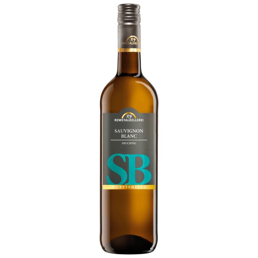 Remstalkellerei Weißwein Sauvignon Blanc Qualitätswein halbtrocken 0,75l