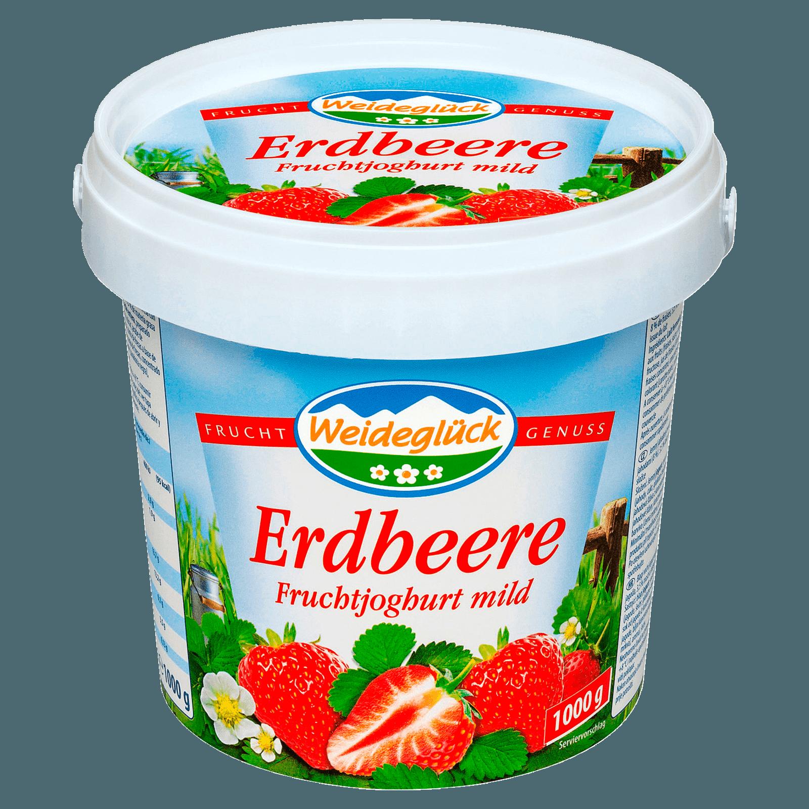 Weideglück Fruchtjoghurt Erdbeere 1kg