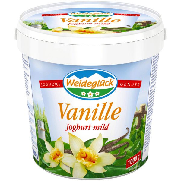 Weideglück Fruchtjoghurt Vanille 1kg