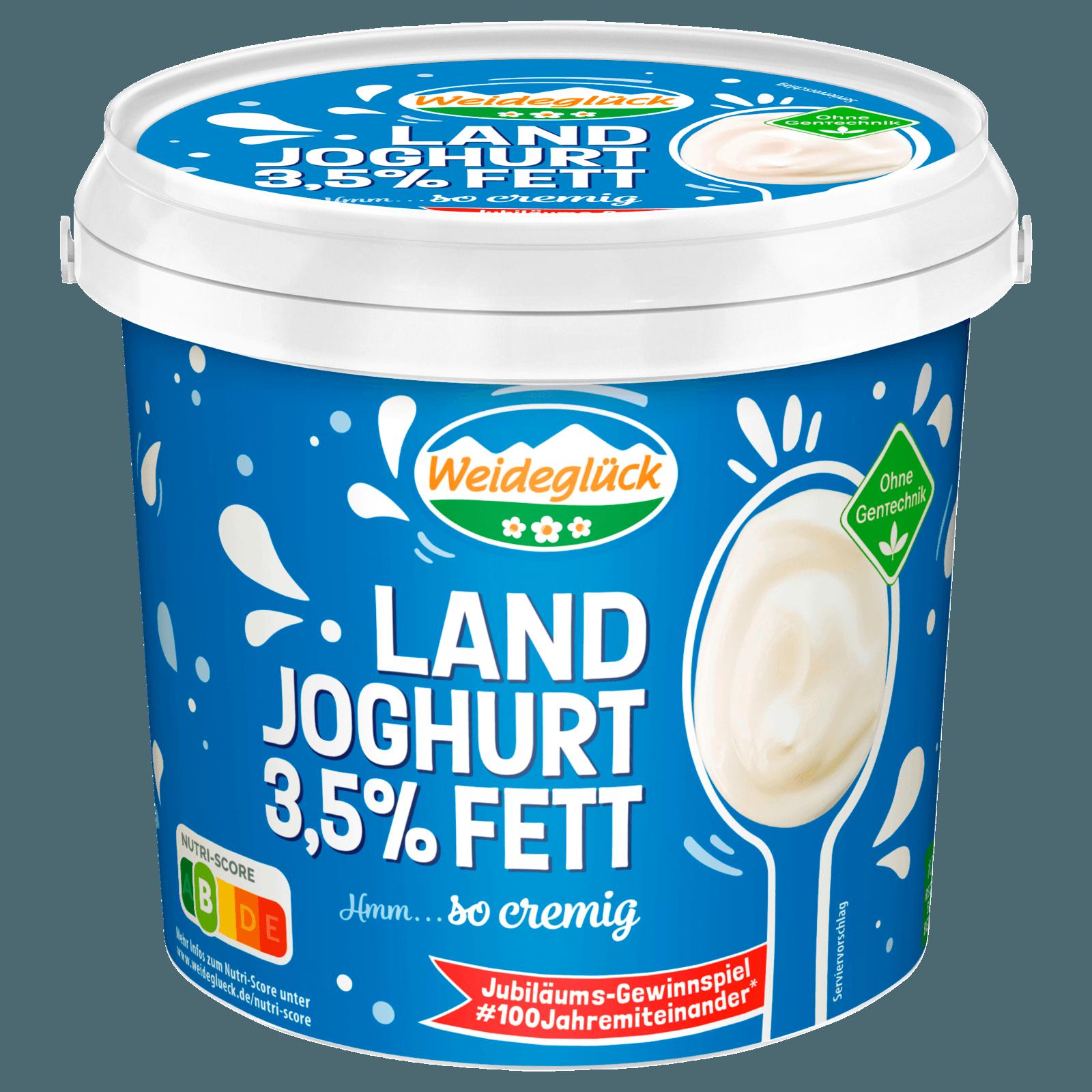 weideglück naturjoghurt